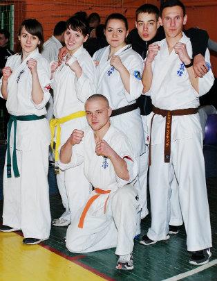 Збірна команда з кіокушин – карате 2014р.