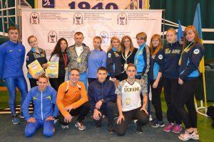 Збірна дкфв на миждународному турнірі «College open»в Івано-франківську