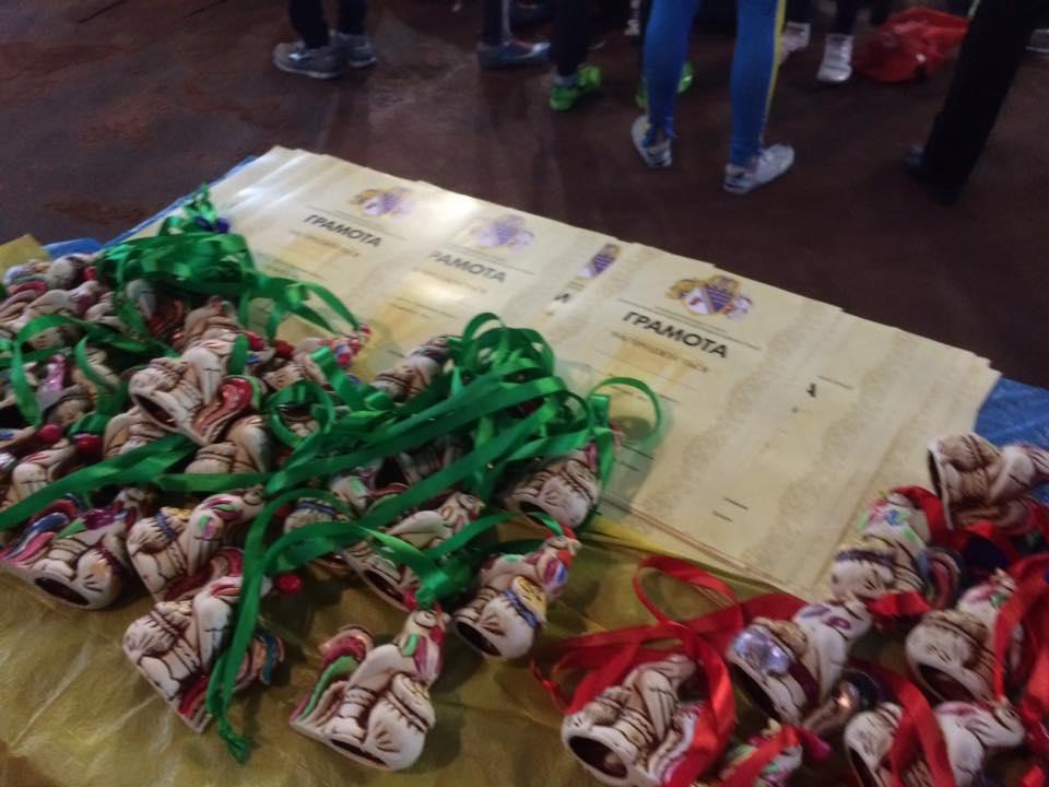 Чемпіонат області з легкоатлетичної естафети (4х300),
