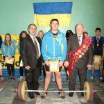 чемпіонат області з важкої атлетики серед юнаків та дівчат 1999 р. н. і молодше