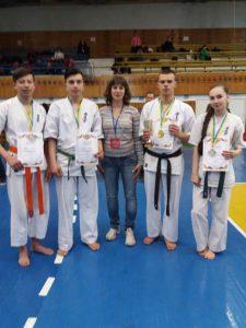 Чемпіонат України з Кіокушин карате