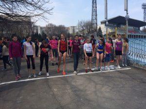 Крос пам'яті заслужених тренерів Г.В. Жильцова і В.С. Левіна