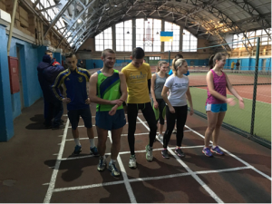 Чемпіонаті Дніпропетровщини з легкої атлетики