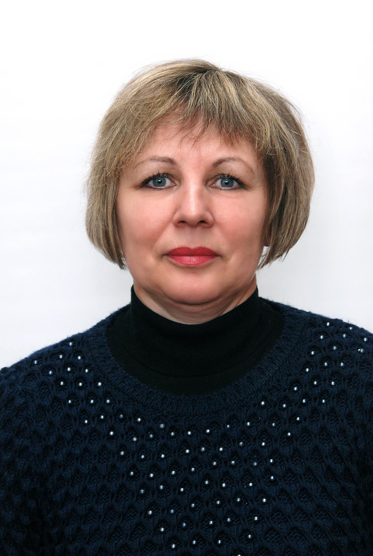 Аврашова Г.Ф. Викладач укр. літератури ККФВ