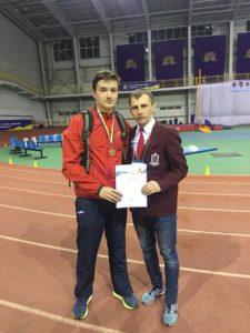 Легкоатлет ККФВ отримав дві бронзи на Чемпіонаті України