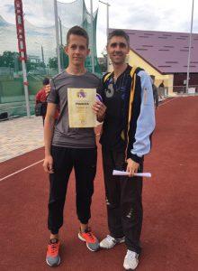 Ілля Гарькавий став срібним призером чемпіонату України з легкої атлетики
