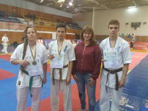 Відкритий чемпіонат Дніпропетровської області серед дітей, юнаків, юніорів та дорослих з Кіокушин карате