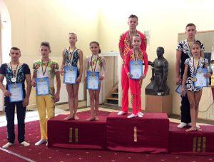 Студент 21 групи, Василинюк Андрій, став членомзбірної команди України зі спортивної акробатики