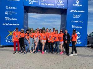 EuropeTriathlon Cup в місті Дніпро